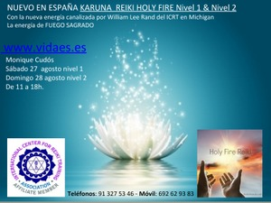 Reiki Karuna Holy Fire 1